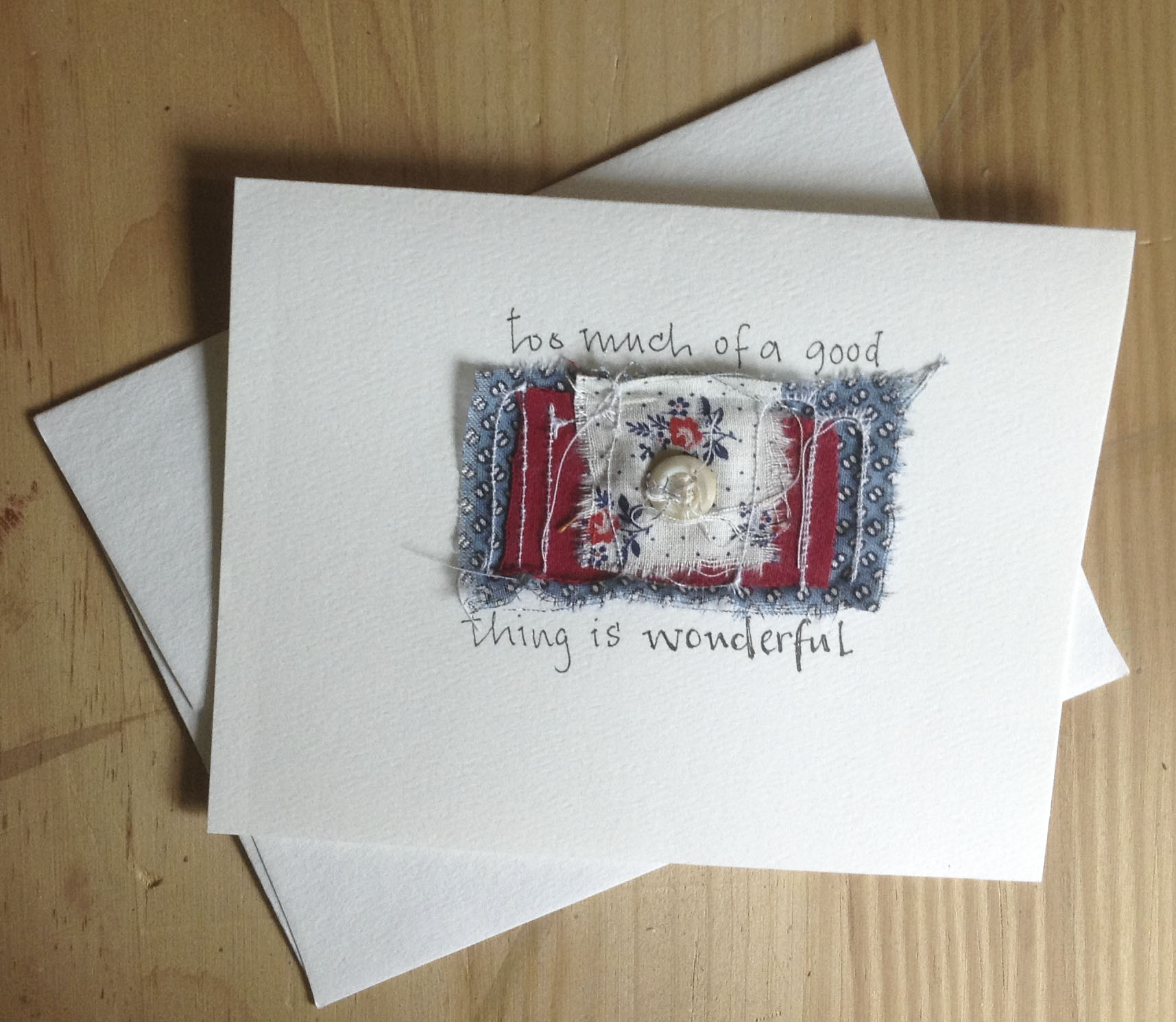 Blank Greeting Cards Faded Paisley Studio